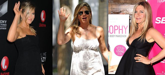 Jennifer Aniston è incinta
