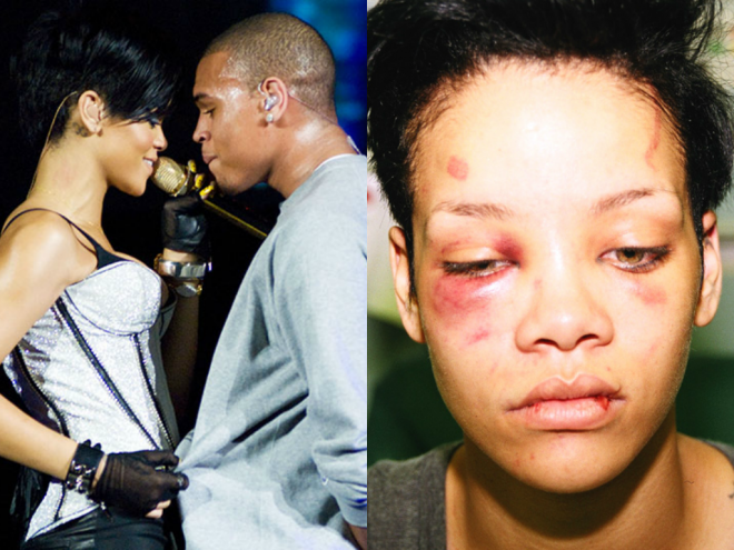 Chris venceu Rihanna