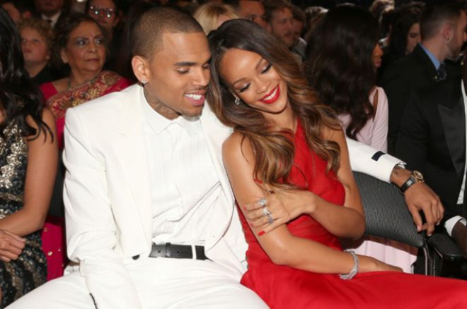 Chris Brown en Rihanna