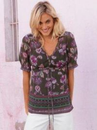 Zomer chiffon blouse voor dames 9