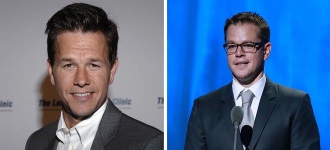 Mark Wahlberg en Matt Damon