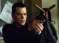 Matt Damon in de film Bourne Identity