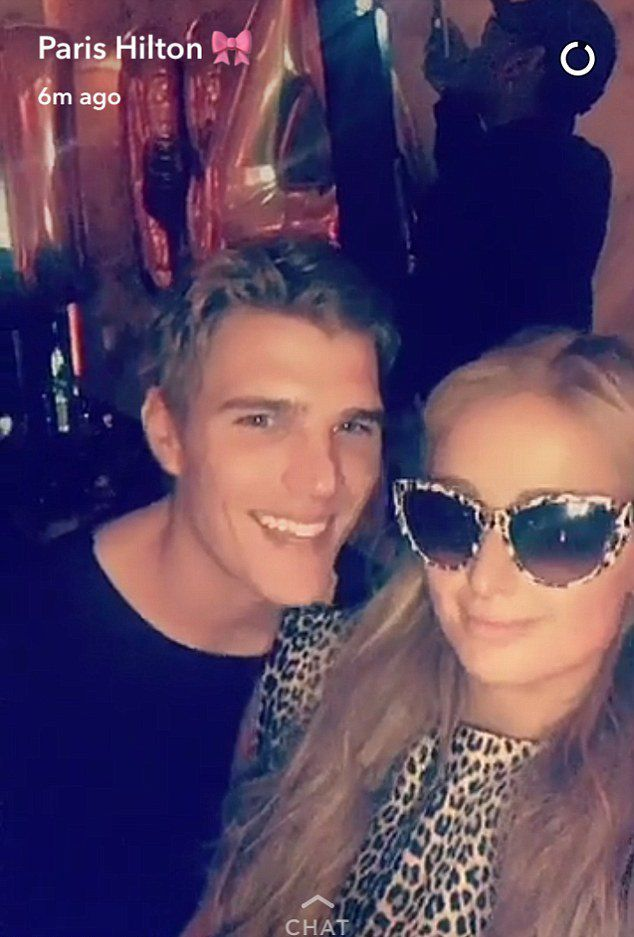 Paris Hilton en Chris Zilka