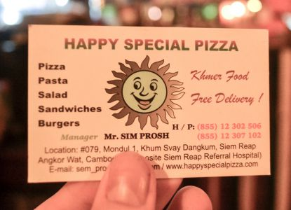 Pizzaria Happy Special Pizza
