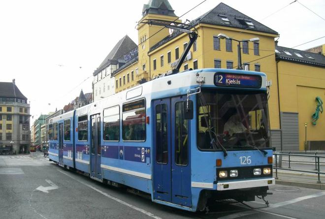 Trams in het land