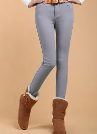 damesjeans met fleece8